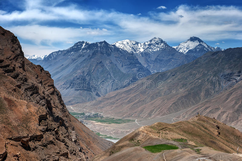 喜马拉雅山 图库摄影