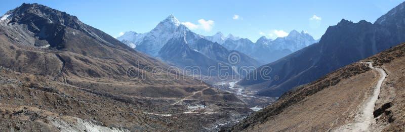 喜马拉雅山 免版税库存照片