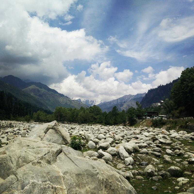 喜马拉雅山 免版税图库摄影