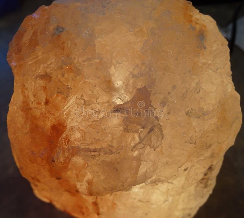 喜马拉雅盐岩石 免版税库存图片