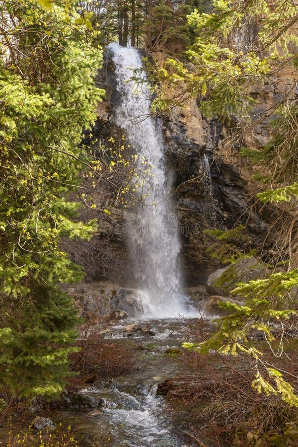 喷出的岩石秋天 库存照片