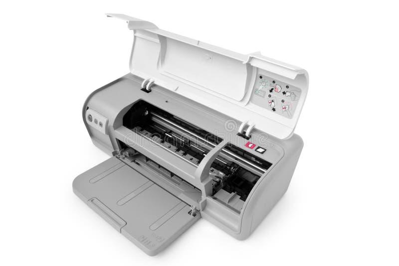 喷墨机维护打印机 免版税库存图片