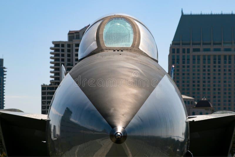 喷气式歼击机在美国 库存图片