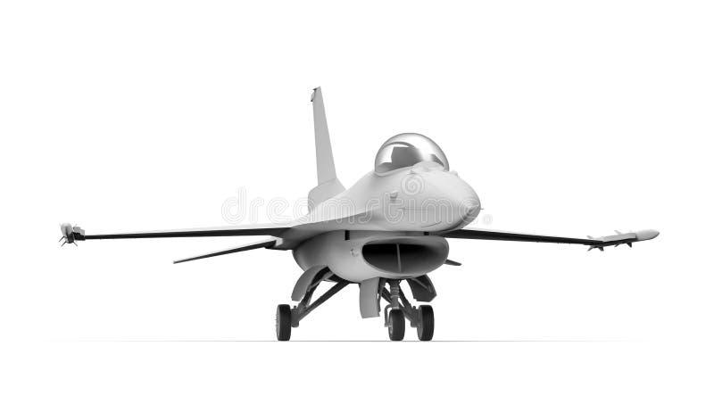 喷气式歼击机 皇族释放例证