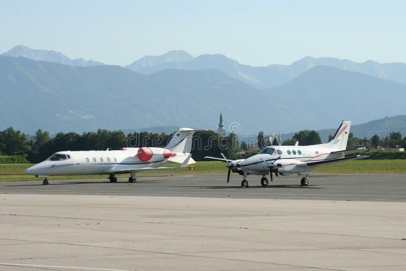 喷气机专用支柱涡轮 免版税库存照片