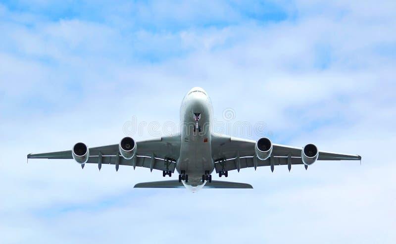 喷气机乘客 库存照片