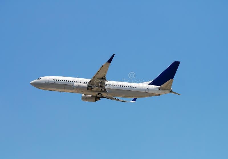 喷气机乘客 免版税库存照片