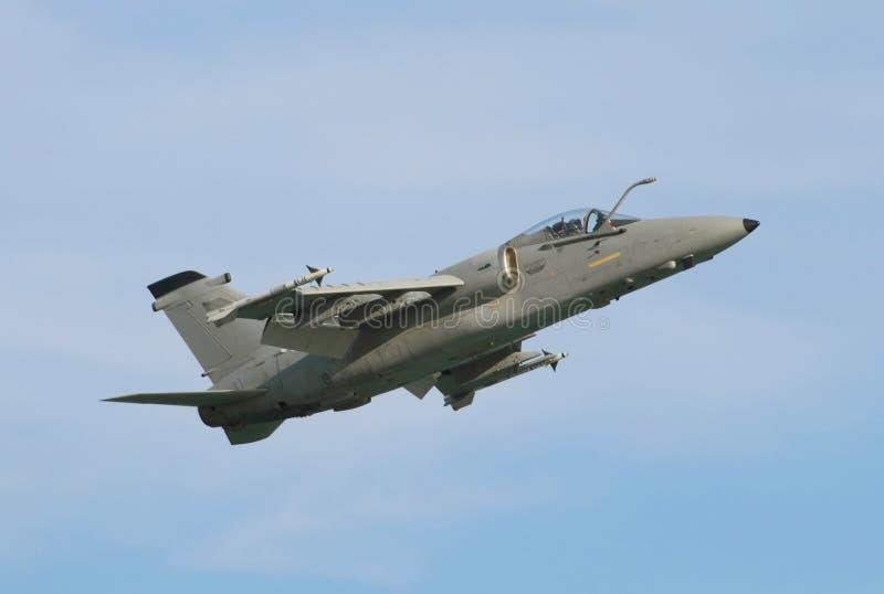 喷气机军人 图库摄影