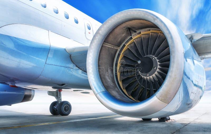 喷气机引擎 库存照片