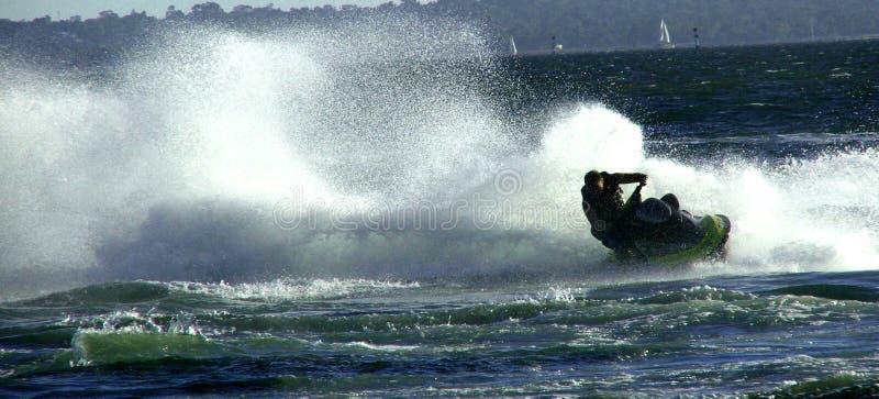 喷气机滑雪 库存图片