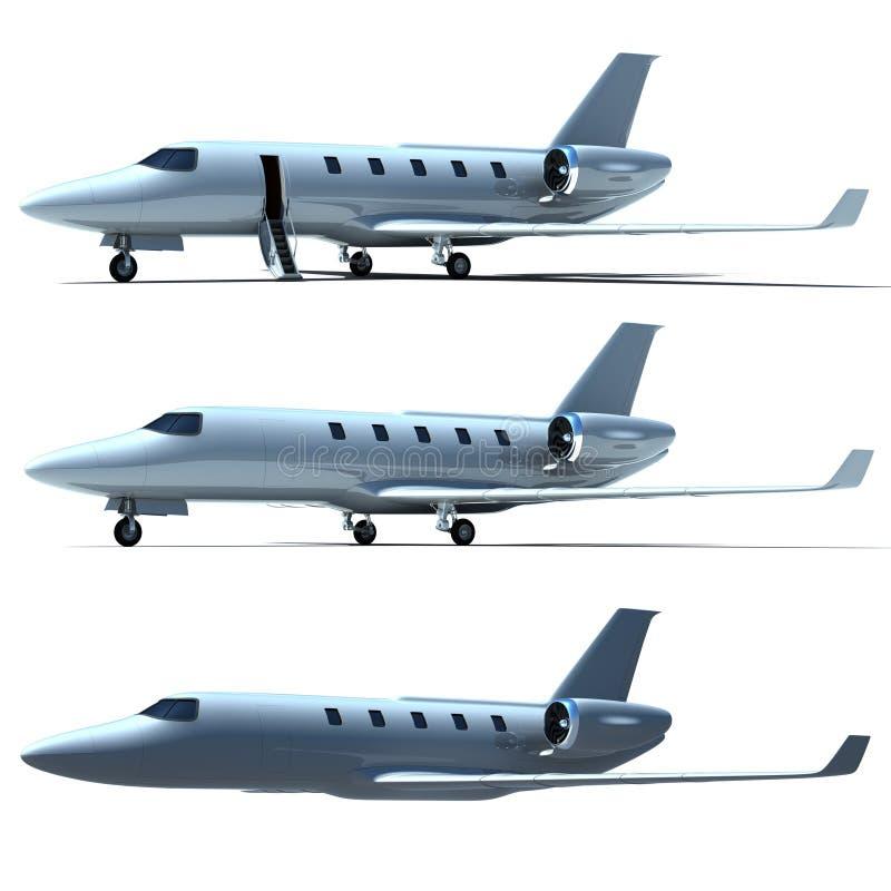 喷气机 向量例证