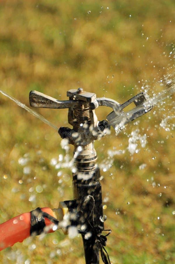 喷水隆头水 免版税库存图片