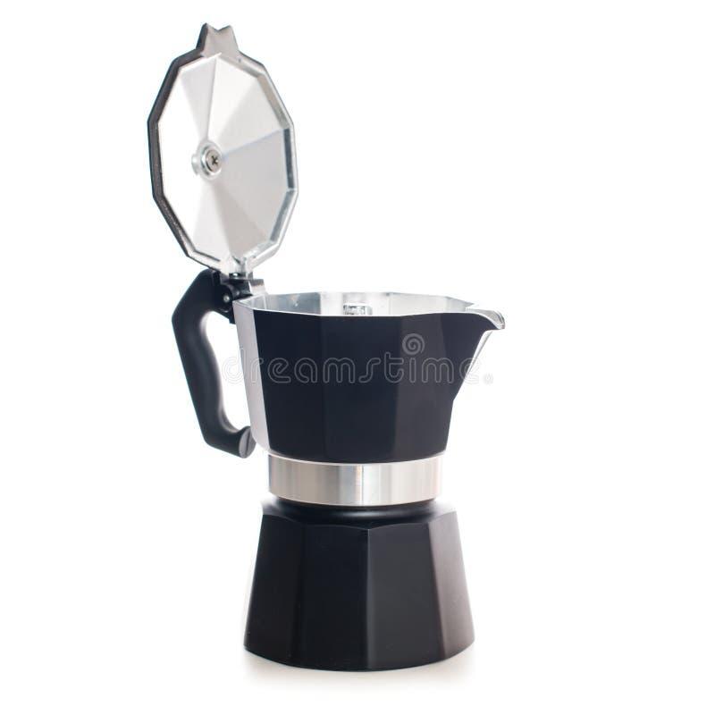 喷泉咖啡壶 免版税库存图片