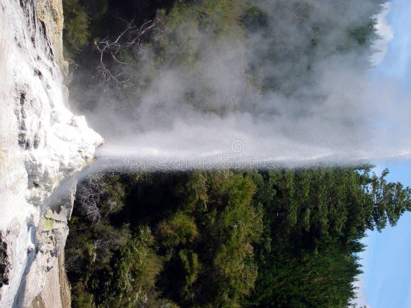 喷泉喷出 库存图片