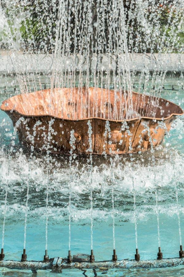 喷泉喷气机 库存图片
