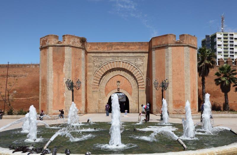 喷泉在拉巴特,摩洛哥 免版税图库摄影