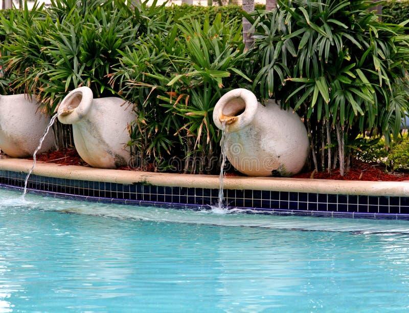 喷泉池 图库摄影