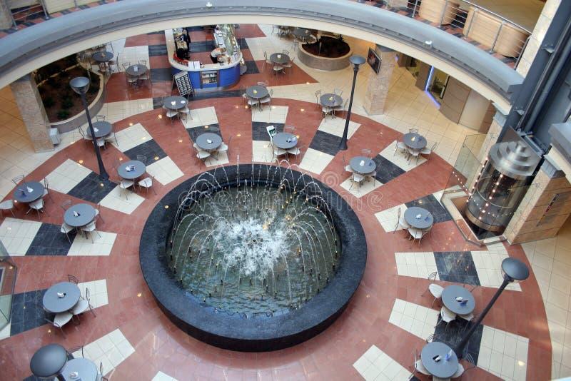 喷泉界面 免版税库存图片