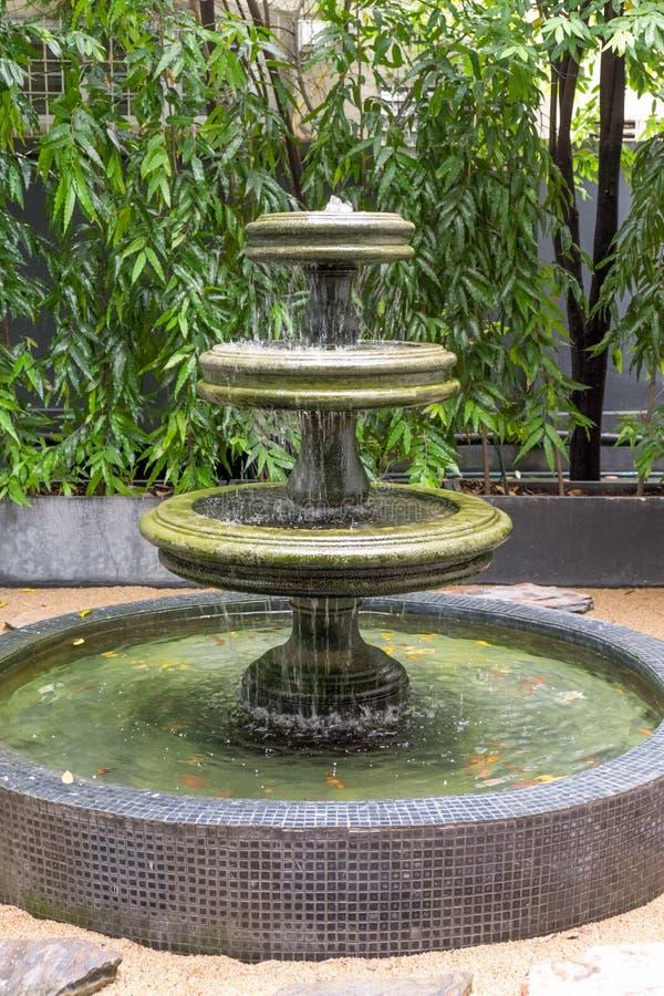 喷泉装饰 免版税图库摄影