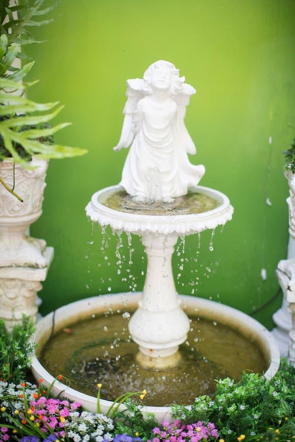 喷泉装饰 库存照片
