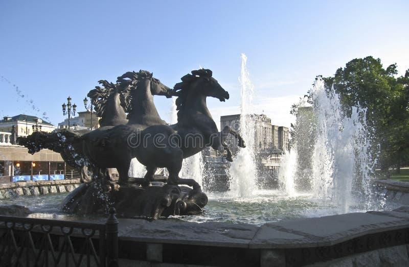 喷泉 库存图片