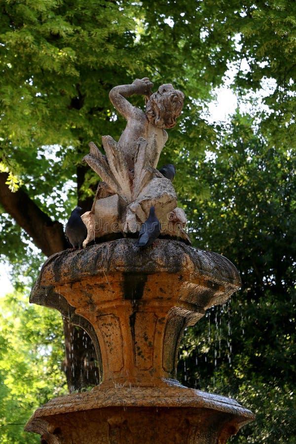 喷泉 免版税图库摄影