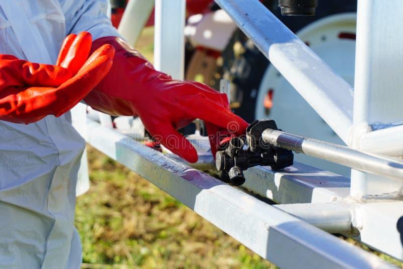 喷雾器喷管的章程 图库摄影