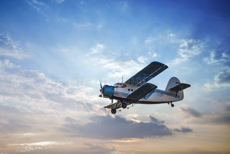 喷雾器飞行游览的照片 库存照片
