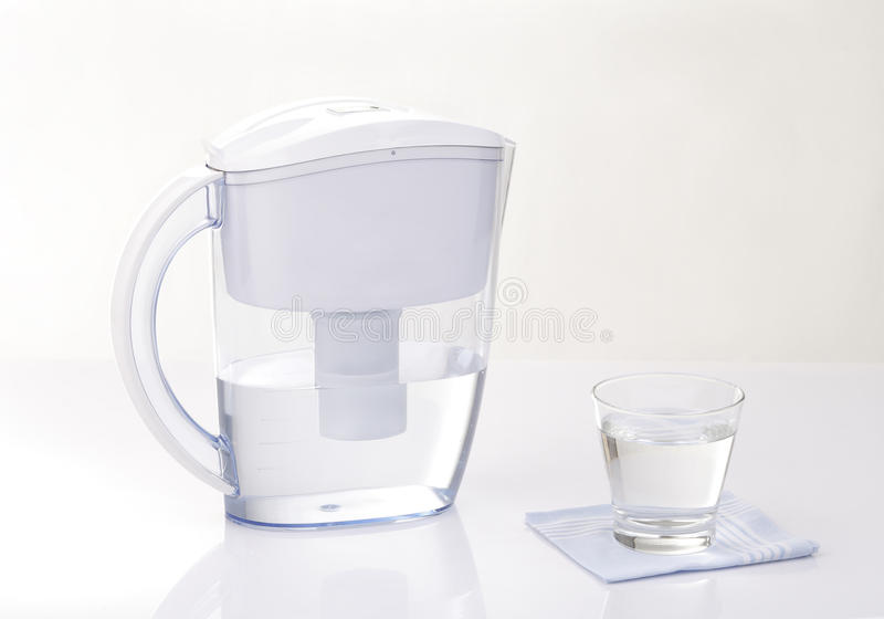 滤水器水罐 库存图片