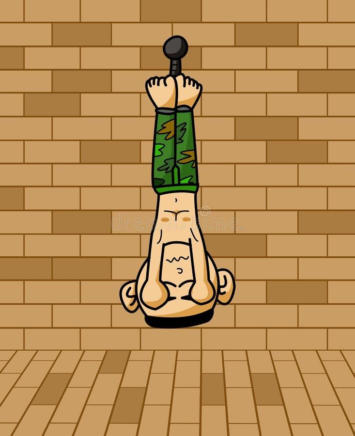 囚犯军队动画片例证 皇族释放例证