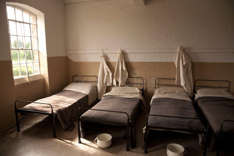 囚犯工厂 免版税库存照片