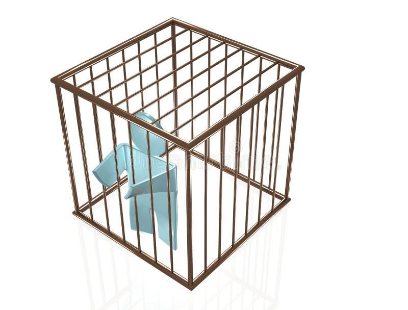 囚犯 向量例证