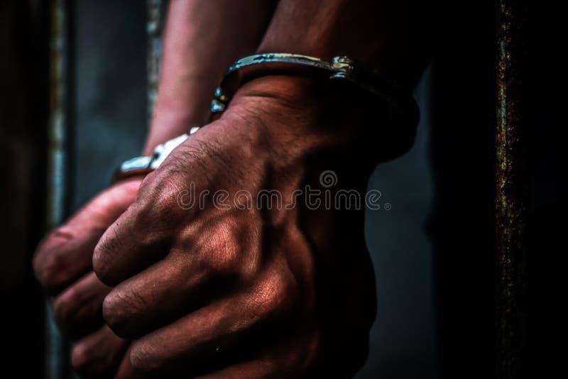 囚犯 库存图片