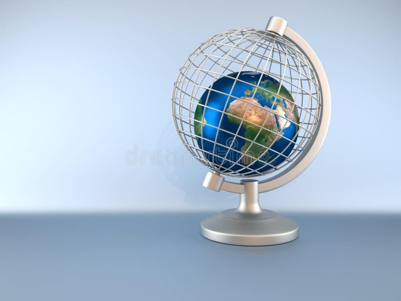 囚禁地球地球 库存例证