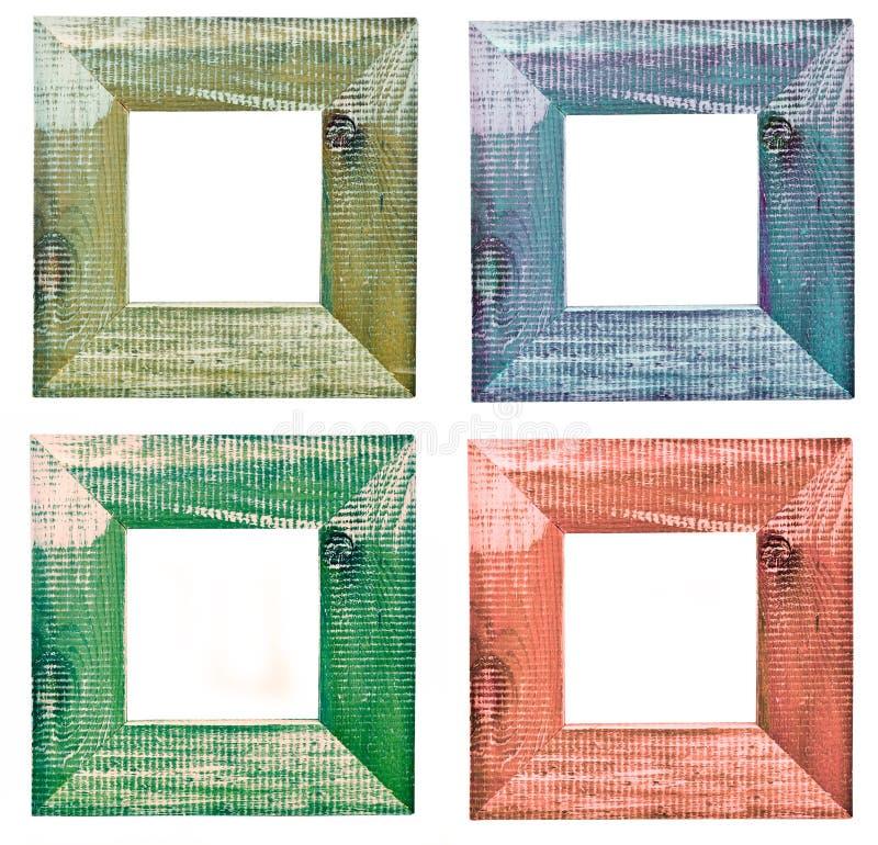 四个框架照片 库存照片