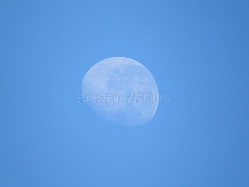 四分之三月亮 库存照片