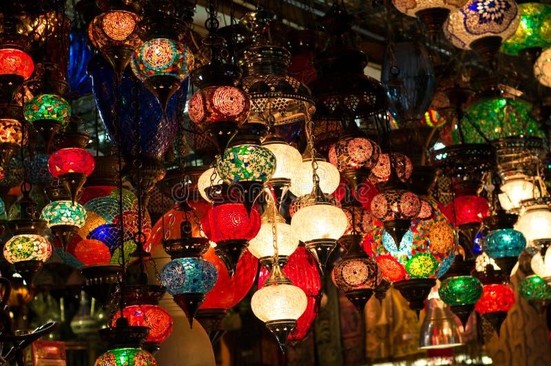 四周亚洲照明设备 图库摄影