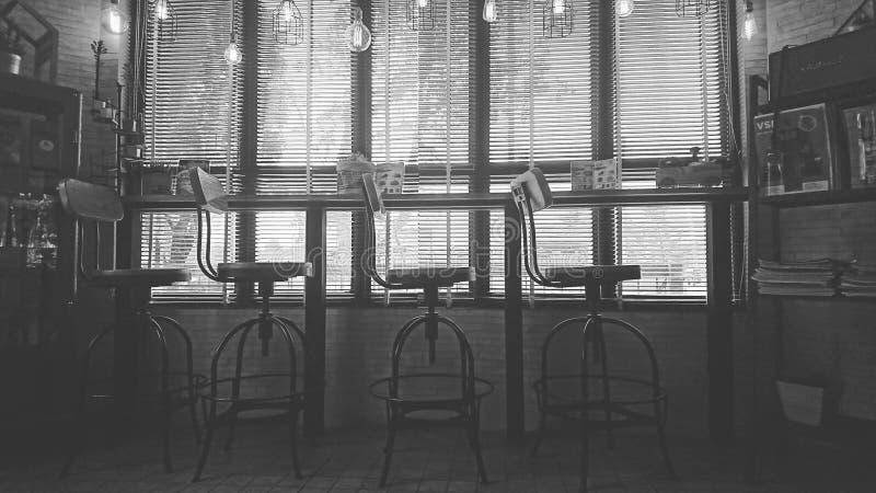 四把椅子 免版税图库摄影