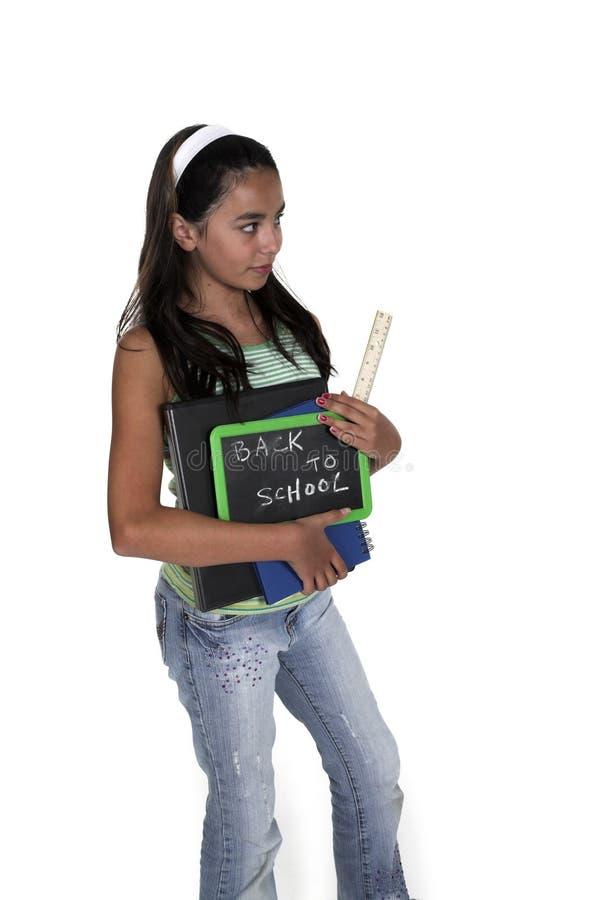 回到学校主题 免版税库存照片