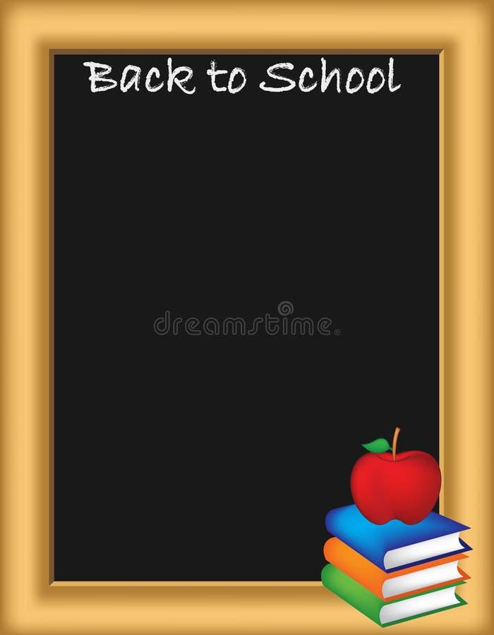 回到学校例证 库存例证