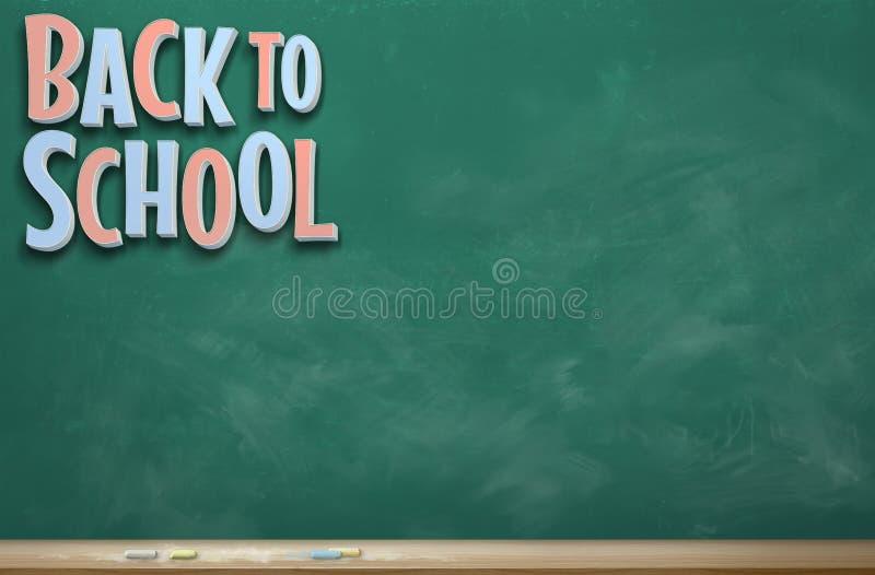 回到学校图象十 免版税库存照片