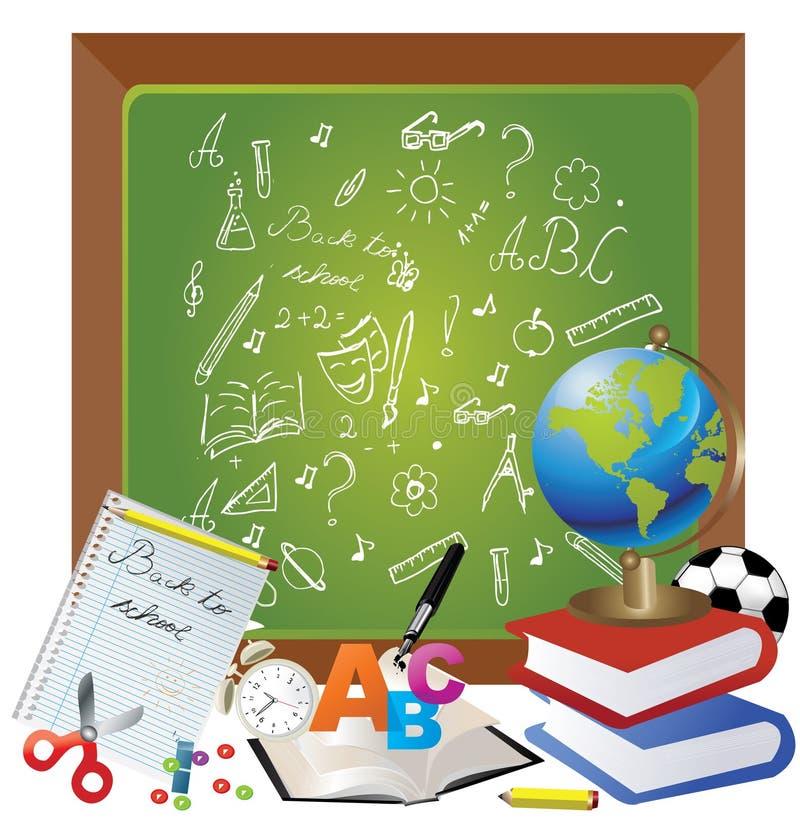 Download 回到设计学校 向量例证. 插画 包括有 果子, 黑板, 艺术, 销售额, 图书馆, 精装书, 学校, 会议室 - 15683708