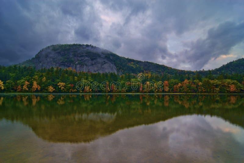 回声湖反映 免版税库存照片