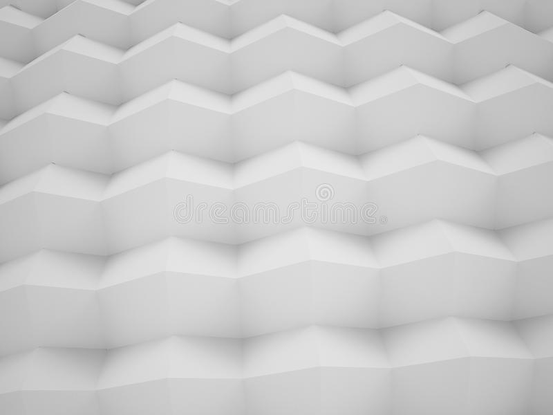 回报抽象箱子,例证构思设计的3D 皇族释放例证