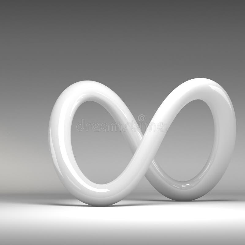 回报抽象结的3D 皇族释放例证