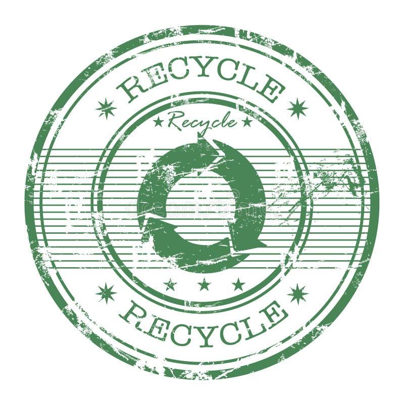 回收不加考虑表赞同的人 库存例证