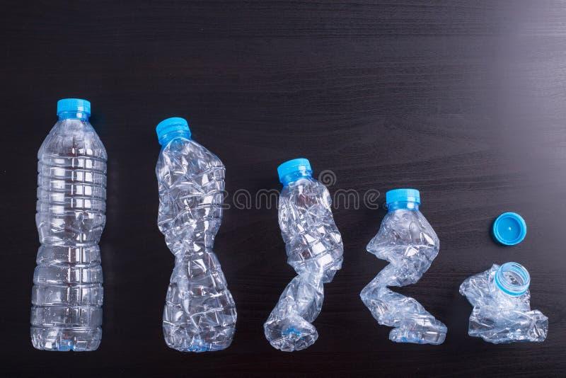 回收使用的瓶 免版税图库摄影
