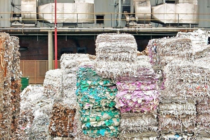 回收堆 免版税库存图片