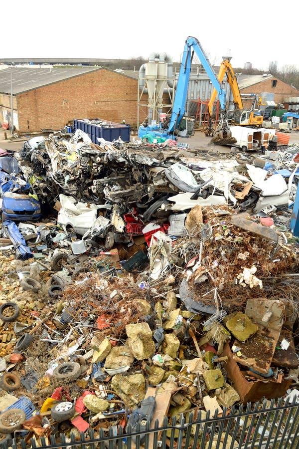 回收站点 免版税库存图片