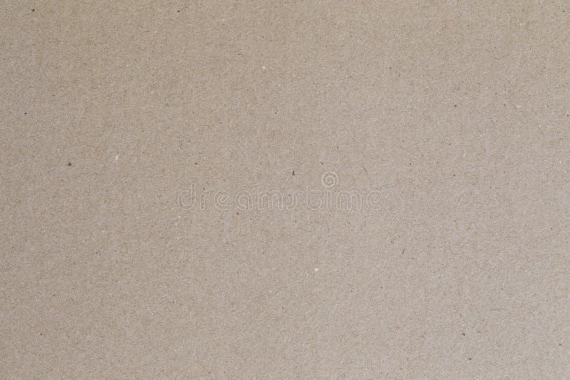 回收背景的,布朗纸板板料摘要纸纹理 库存图片